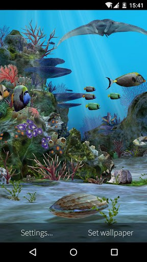 3D Aquarium Live Wallpaper HD APK Download for Android