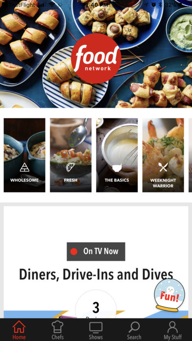 Food Network In the Kitchen iPhone App - App Store Apps
