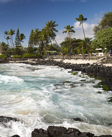 Hawaii Big Island Travel Guide and Hotels   Aqua Aston Hotels Kona Coast Hawaii Island