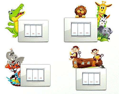 Decorazioni muro bambini cool decorazioni murali - Decorazioni murali bambini ...