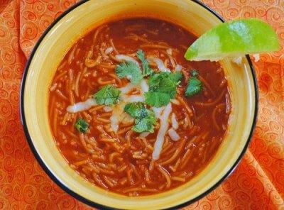 Authentic Mesican Sopa de Fideo Recipe - Chef Dennis