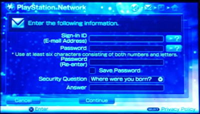 How do I sign up for the Sony PlayStation Network on my PSP? - Ask Dave Taylor