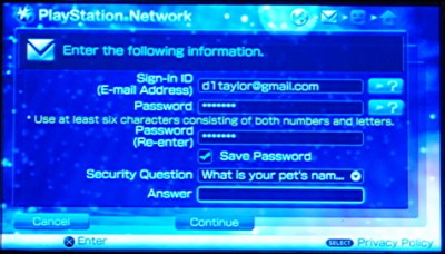 How do I sign up for the Sony PlayStation Network on my PSP? - Ask Dave Taylor
