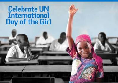 Celebrate UN International Day Of The Girl Child