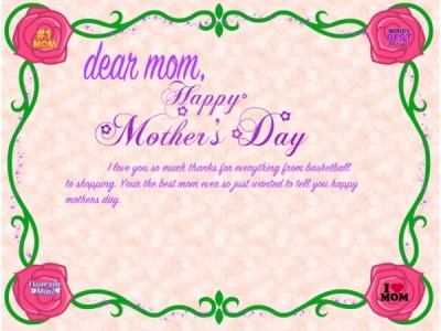 60 Beautiful Mother's Day 2017 Greeting Card Pictures
