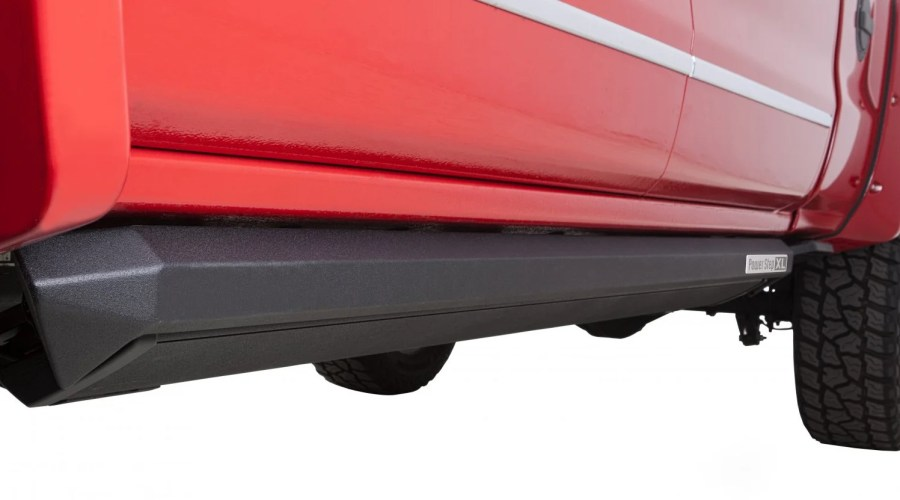 2014 2018 Chevy Silverado AMP Research PowerStep XL Running Boards     Video  Additional Images Additional Images Additional Images Additional  Images