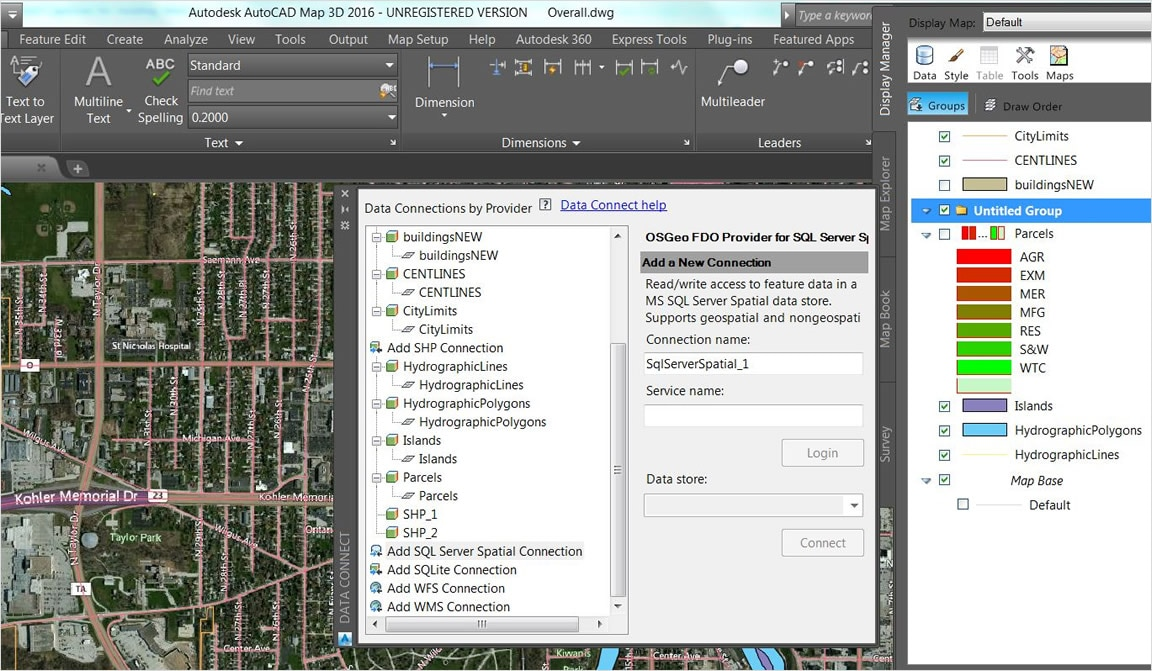 AutoCAD MAP 3D   3D GIS Mapping Software   Kanisco Access industry models in more formats  enhanced