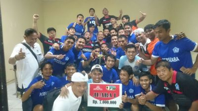 Menang Adu Penalti, Persekaba Juara Liga 3 Wilayah Bali - Bali Ekbis