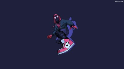 Spiderman Into The Spider Verse HQ Background Wallpaper 29950 - Baltana