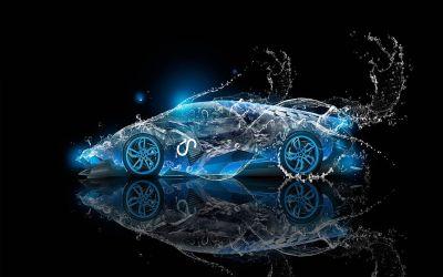 3D Car HD Background Wallpaper 22657 - Baltana