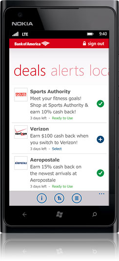 Mobile Banking Features Offered by Bank of America - Small Business