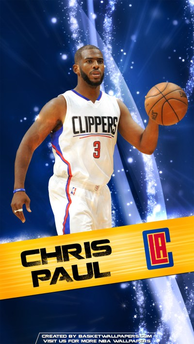 Chris Paul Los Angeles Clippers 2016 Mobile Wallpaper | Basketball Wallpapers at ...