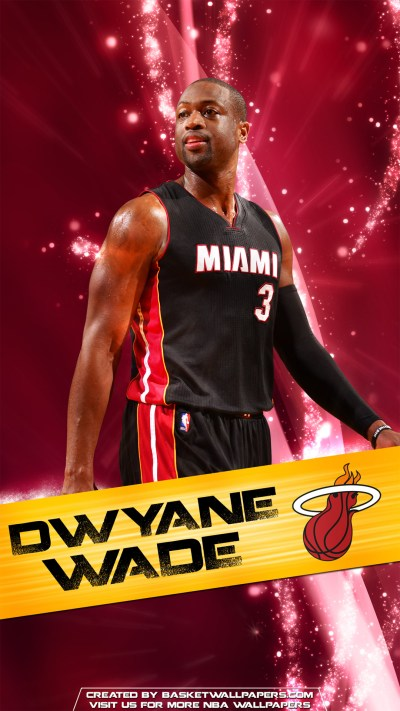 Dwyane Wade Miami Heat 2016 Mobile Wallpaper | Basketball Wallpapers at BasketWallpapers.com