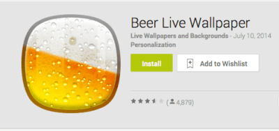 Beer Live Wallpaper