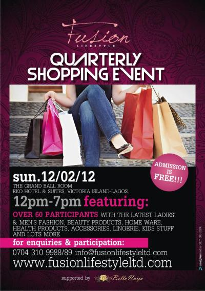 The Fusion Lifestyle Quarterly Shopping Event Heads to ...