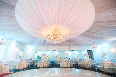 BN Wedding Decor: Omo & Emmanuel's Dreamy Pink & Gold ...