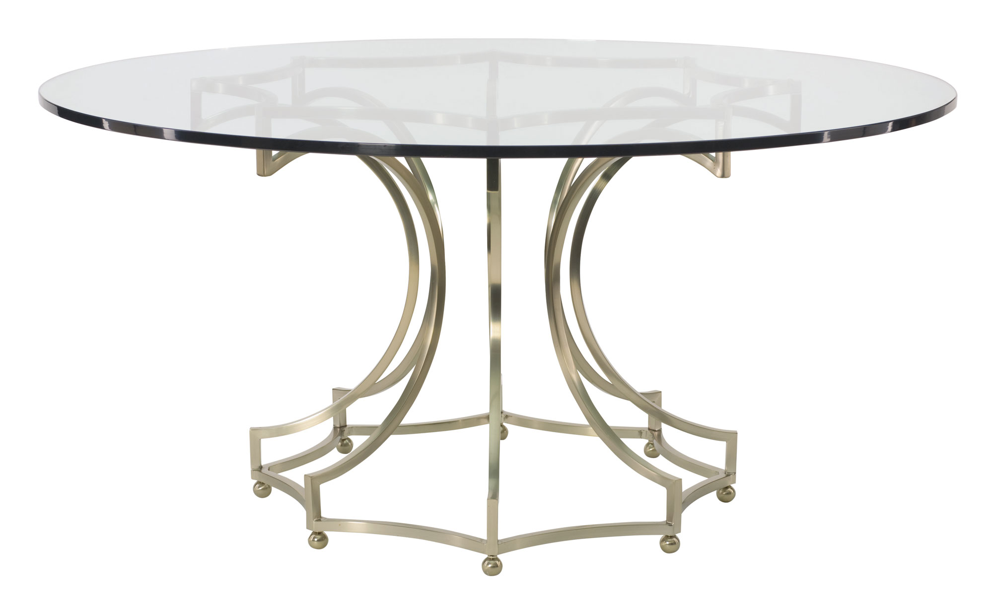 round dining table glass top with metal base glass top kitchen table Miramont Round Dining Table Glass Top with Metal Base