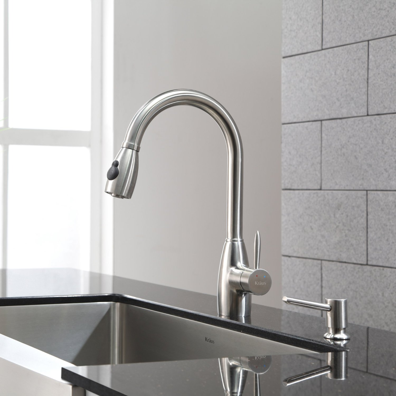 kraus kpf single lever pull kitchen faucet reviews grohe kitchen faucets