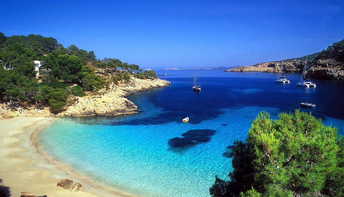 What to visit in Ibiza City  Balearic Islands    The best places in     ibiza island beach mediterranean sea