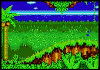 Background HQ :: Sonic the Hedgehog 3 - Angel Island Zone