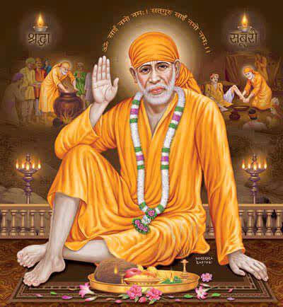 Download Free HD Wallpapers of Shirdi Sai Baba