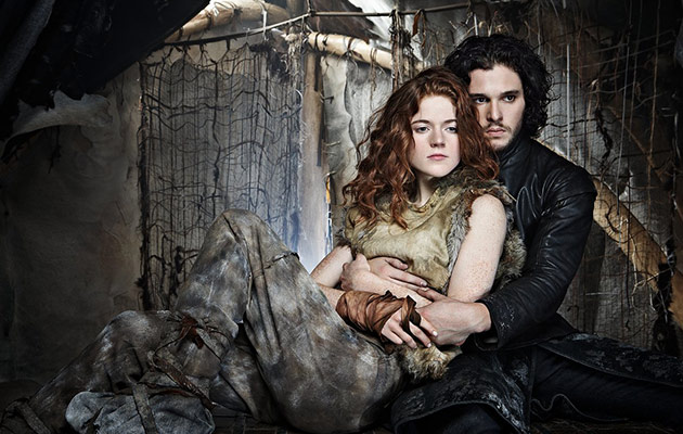 Game of Thrones  Kit Harington and Rose Leslie Are ON  AGAIN     Photo credit  HBO