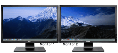 Dual-monitor desktop Background Switcher software. How to change the wallpaper on a dual monitor ...