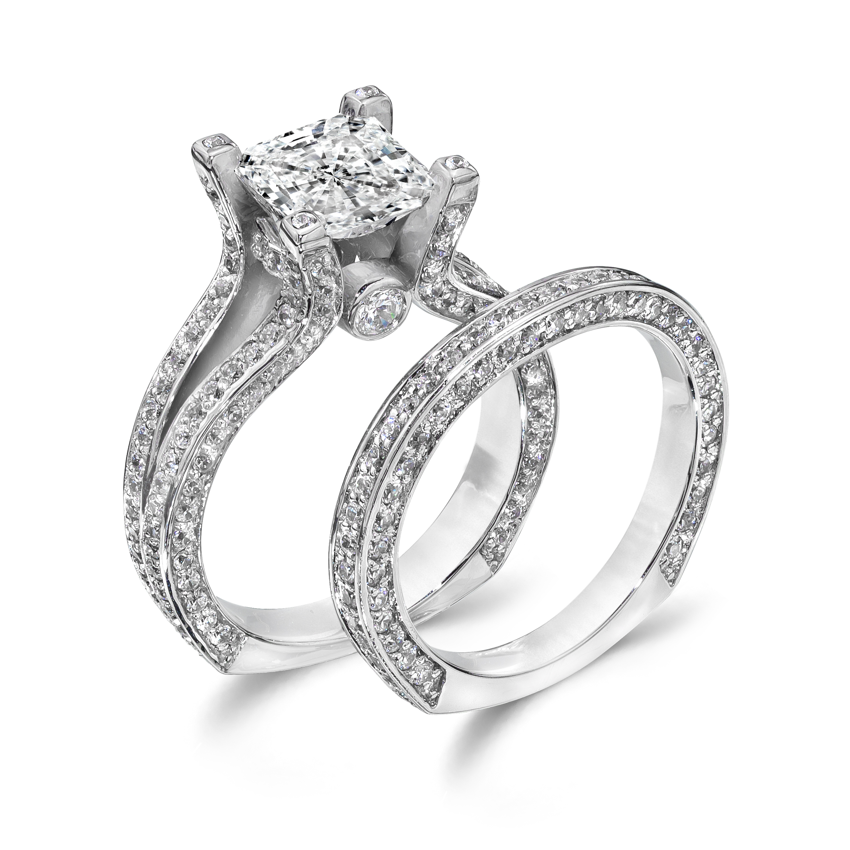 quality cz wedding ring sets jared wedding rings Quality Cz Wedding Rings