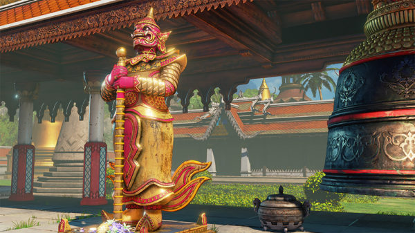 Thailand Map Temporarily Pulled From  Street Fighter V  For     It has come to our attention that part of the background music track used  in the DLC Thailand Temple Hideout Stage  released on April 25  2017