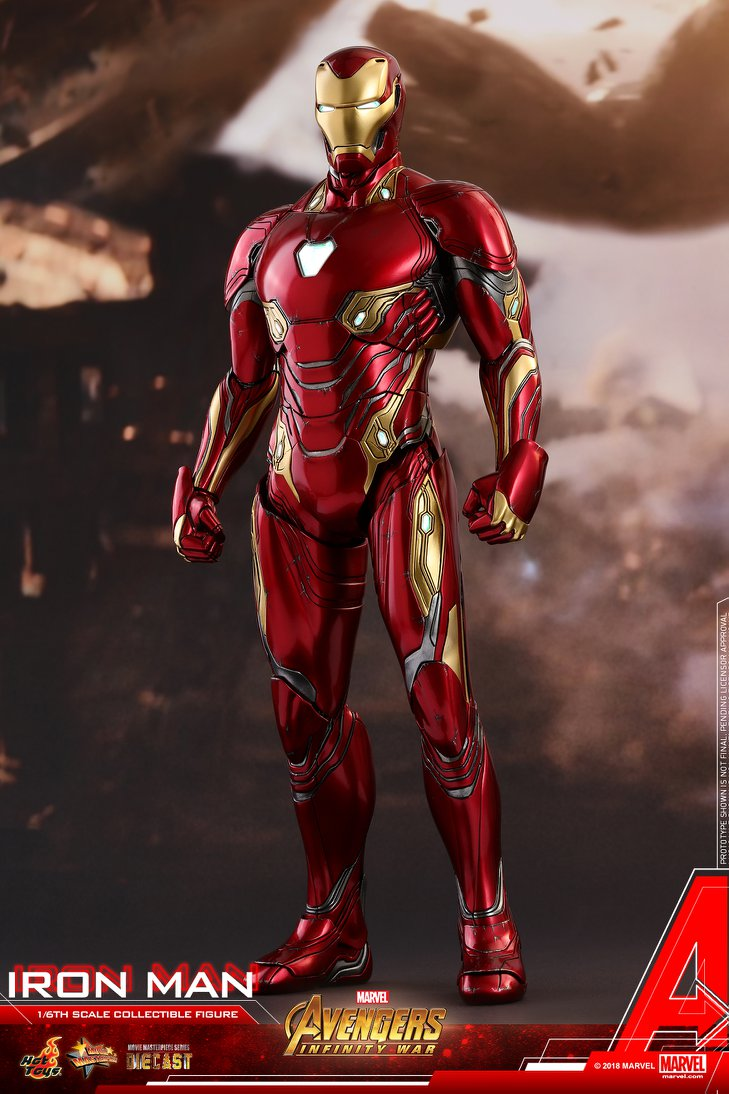 Iron Man Mark 50 Diecast from Infinity War Coming from Hot Toys Avengers  Infinity War     1 6th scale Iron Man Collectible Figure