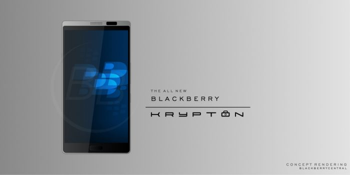 Blackberry Krypton with Finger Print Scanner