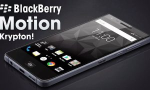 BlackBerry Motion Launch Date Announced, November 2, Canada