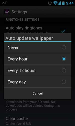Set Bing Images as Android Wallpaper Daily and Automatically