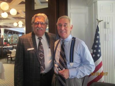 Roger Stone at Tiger Bay Club Luncheon - Boca Raton News Most Reliable Source | Boca Raton News ...