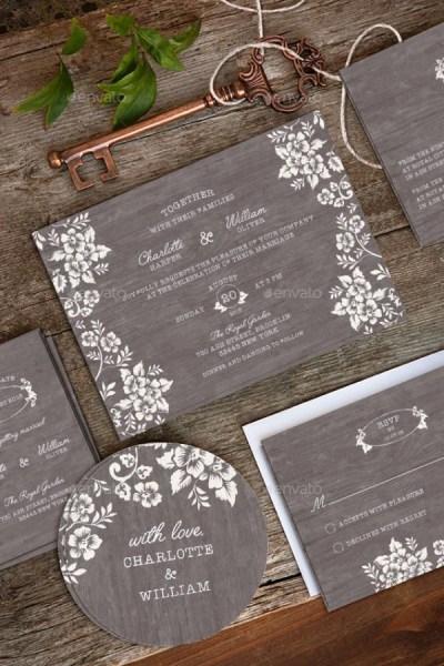 30 Creative Wedding Invitation Card Ideas - Bored Art