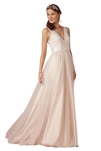 Pastel-Colored Wedding Dresses & Accessories   BridalGuide