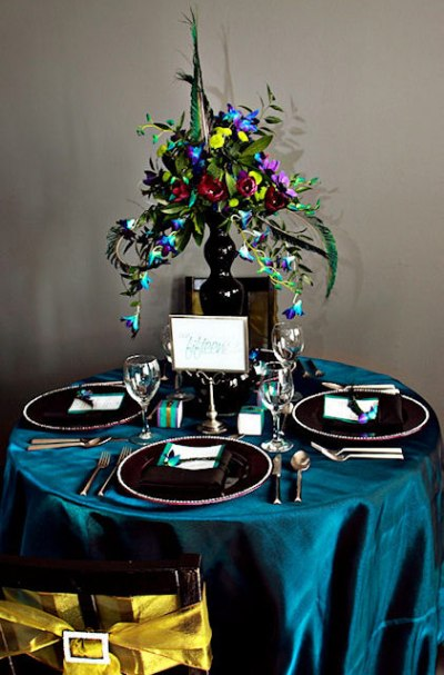 All Things Peacock {Wedding Inspiration} | Principles in ...