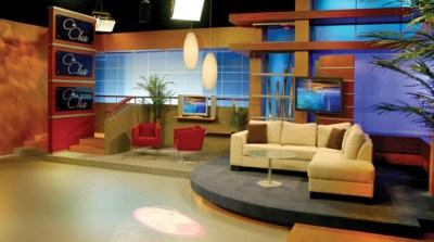 Multimedios Set Design - Talk Shows - Broadcast Design International, Inc.