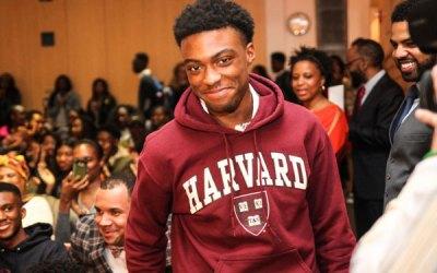 Watch: Crown Heights teen learns he is getting full ride to Harvard   Brooklyn Paper