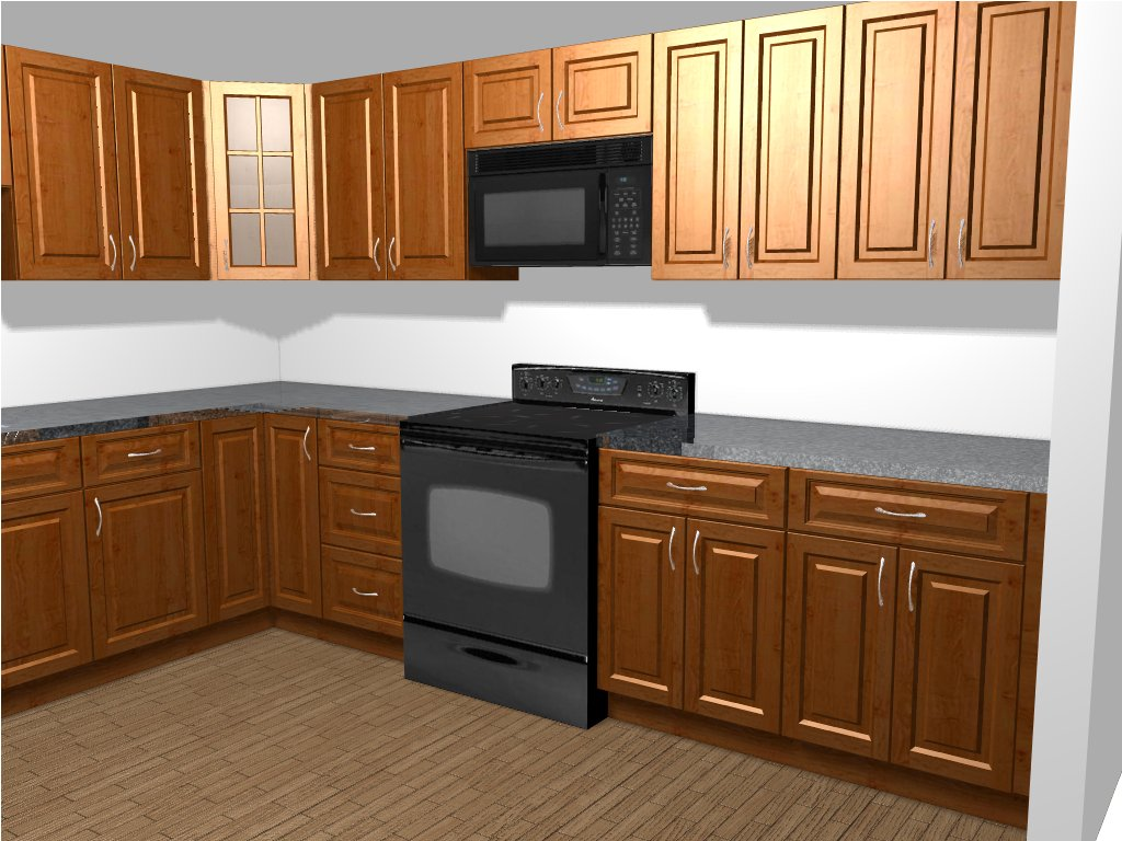 budgetkitchenandbath kitchen remodels Design Rendering Finished Kitchen