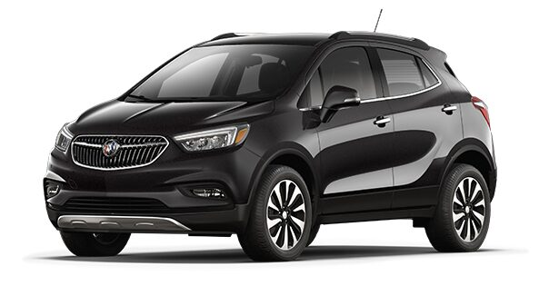 Buick Luxury Cars  Crossovers  SUVs   Sedans   Buick Jellybean image showing the 2018 Buick Encore compact luxury SUV in ebony  twilight metallic