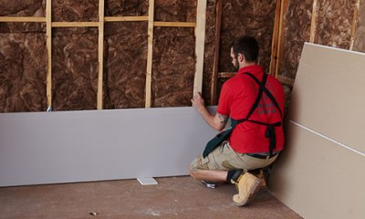 How to plasterboard a stud wall | Bunnings Warehouse