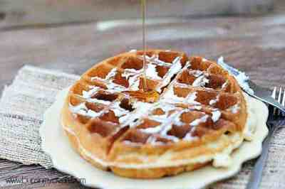 The Best Belgian Waffle Recipe - super crisp and airy!