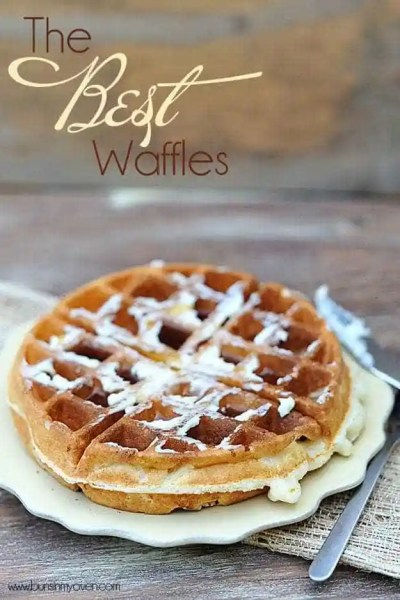 The Very Best Waffles — Buns In My Oven
