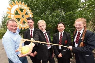 Rotary Give Ballymena Academy Top Prize for Saving the World! · BUSINESSFIRST