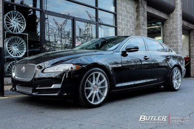Jaguar XJ with 20in Savini BM12 Wheels exclusively from Butler Tires and Wheels in Atlanta, GA ...