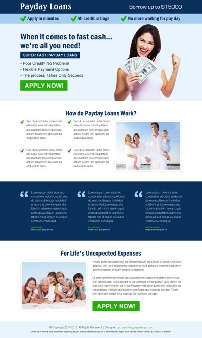Killer landing page designs to increase traffic and conversion