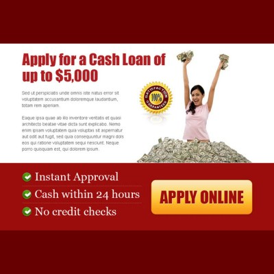 Cash loan ppv landing page designs for capturing quality leads for best conversion.