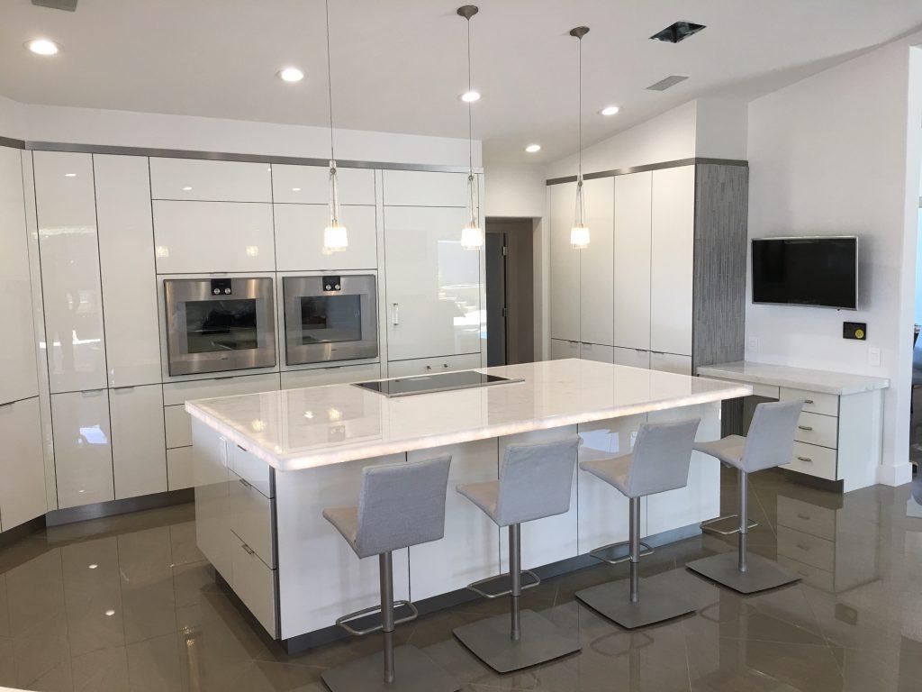 kitchens kitchen cabinets phoenix White Quartz Countertop Installation Phoenix