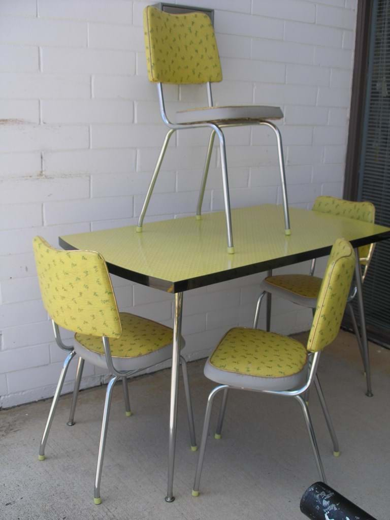 retro metal kitchen table sets cliff kitchen retro kitchen chairs Retro Kitchen Chairs Chrome Cliff Kitchen
